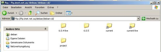 FTP mit dem Windows Explorer